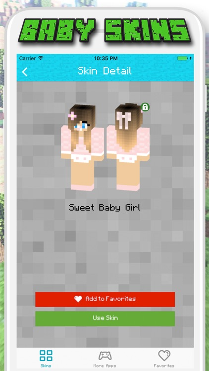 Baby Skins for Minecraft PE - Pocket Edition screenshot-4