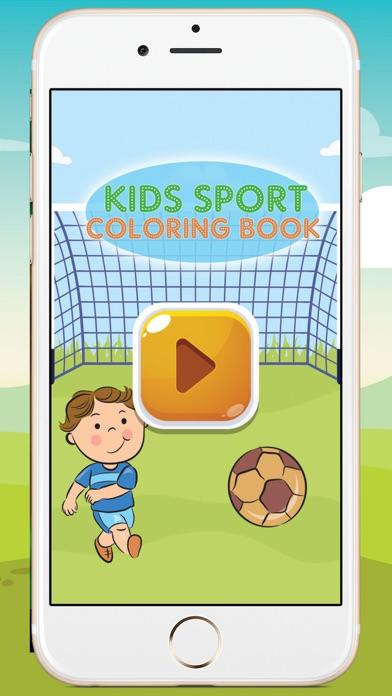 Kids Sport Coloring Book screenshot three