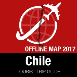 Chile Tourist Guide + Offline Map