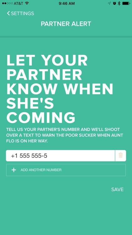 Aunt Flo Period Tracker
