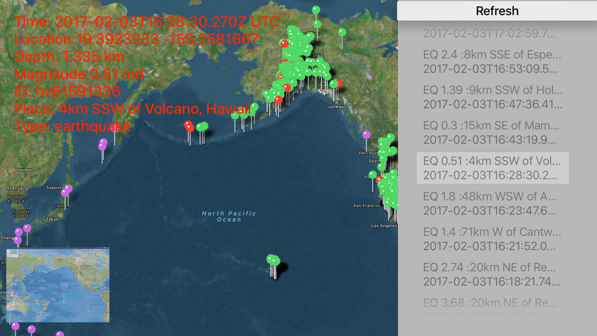 Instant USGS Earthquake Pro screenshot 12