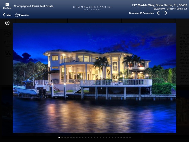 Champagne & Parisi Real Estate for iPad screenshot-4