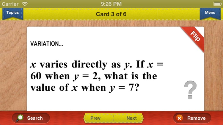 GMAT Prep Math Flashcards Exambusters screenshot-2