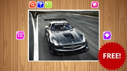 Sport Cars Jigsaw Puzzle Game For Kids and Adults screenshot three