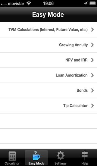 財務計算機 ScreenShot4