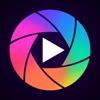 GIFを作る カメラ - アニメーション画像 動画編集者アイコン