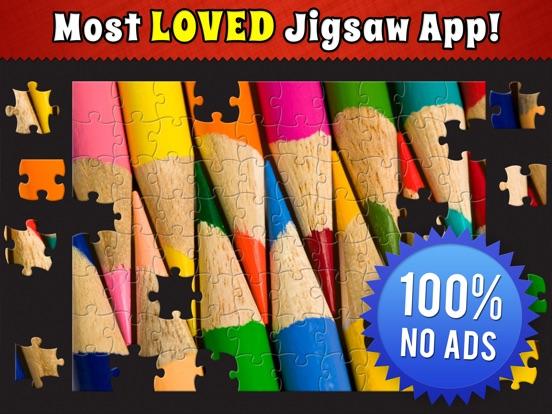 Jigsaw Puzzle Bug на iPad