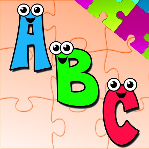 Alphabet  A-Z Animals Jigsaw Puzzles for kids app logo