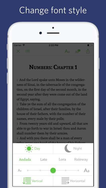 King James Bible - sync transcript screenshot-3