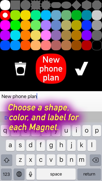 Mind Magnets Info Organizer—Visual Grid Checklists