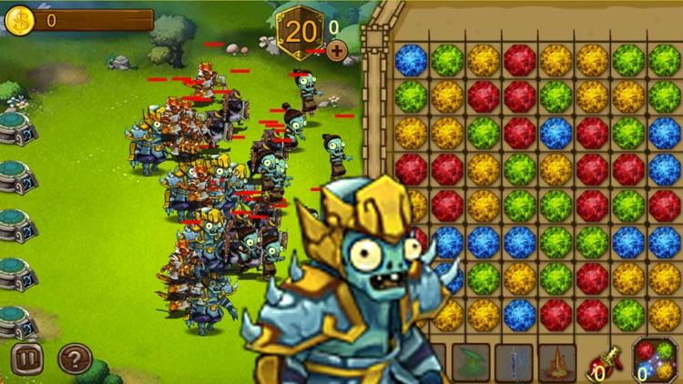 Zombies Crush: Tower Defense & Strategy Game Free screenshot-3