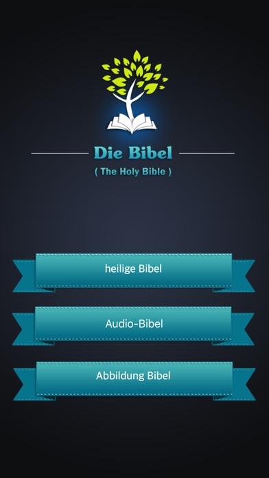 German Bible Audio - Die Bibel Deutsch mit Audio app image