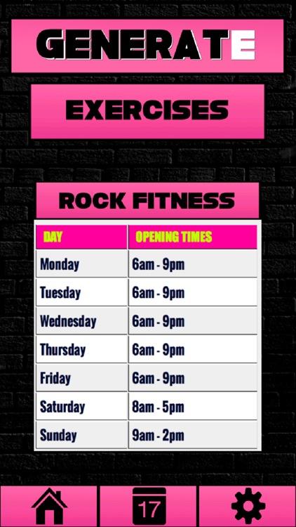 Rock Fitness App screenshot-3