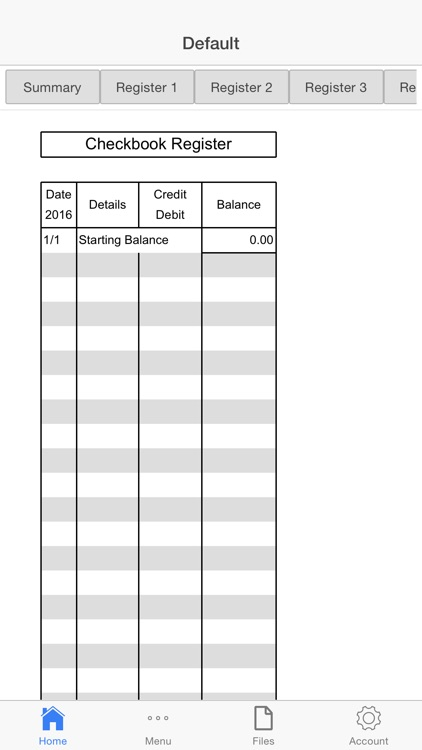Bank Balance screenshot-1