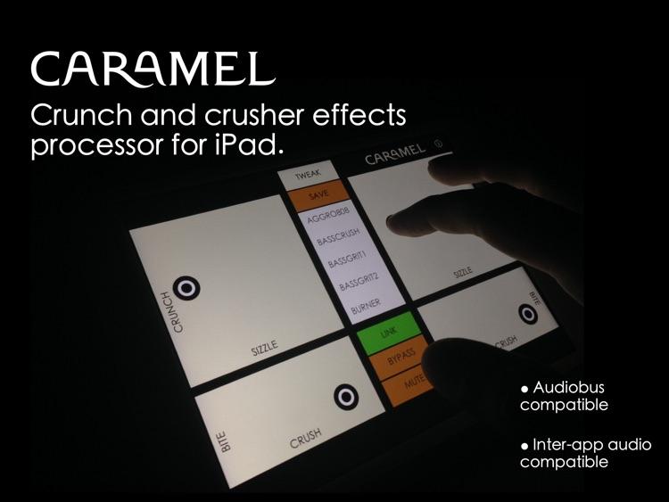 Caramel - Crunch and Crusher Effects Processor screenshot-0