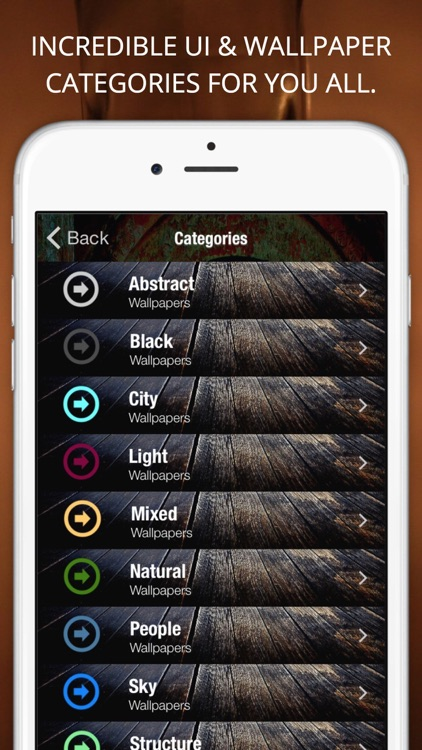 HD wallpapers & lock screen backgrounds - SkyJog screenshot-3