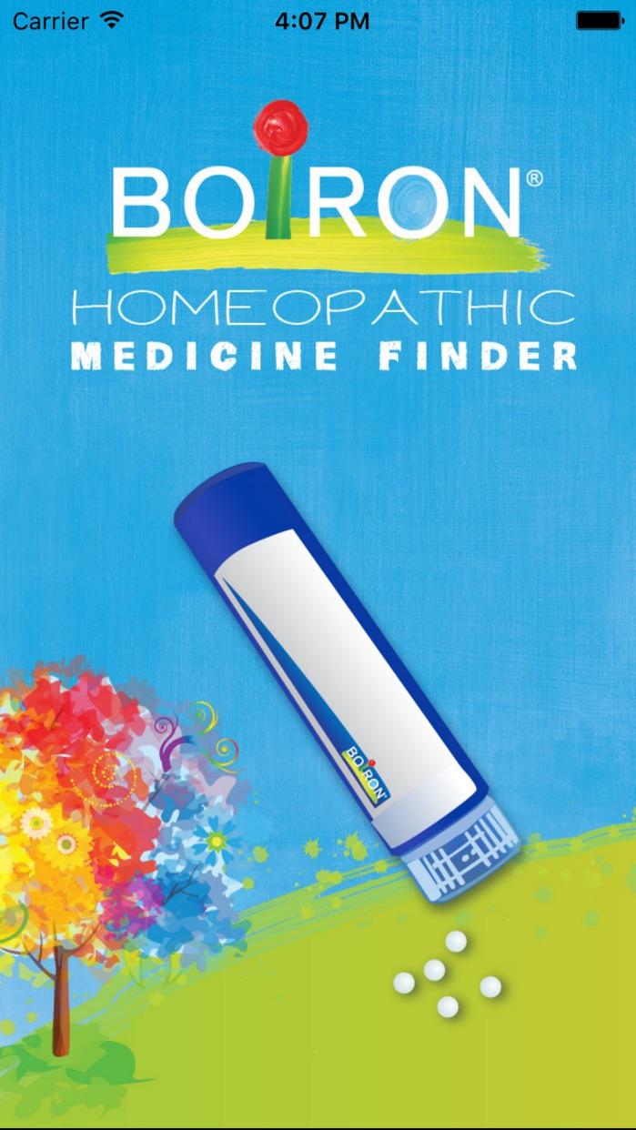 Boiron Medicine Finder Screenshot