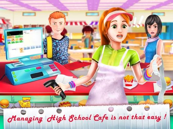 High School Cafe Managerのおすすめ画像1