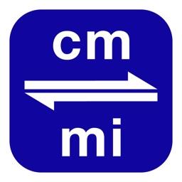 Centimeters to Miles | cm to mi