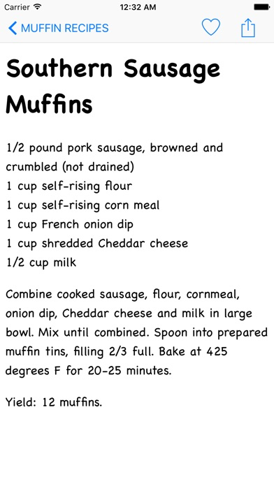 Muffins Recipes review screenshots