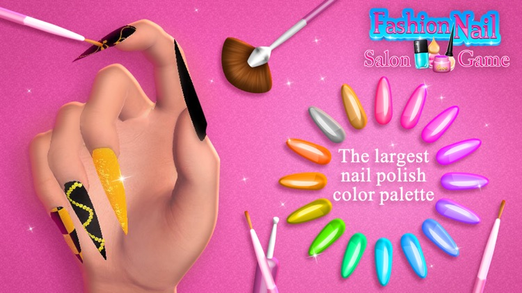 Fashion Nail Salon Game: Amazing Nail Art Designs screenshot-3