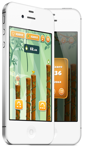 ‎Monkey Jumping - Keep Climbing Screenshot