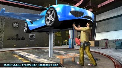 飞行汽车机械师模拟器 - 汽车修理店和服务站游戏 App 截图