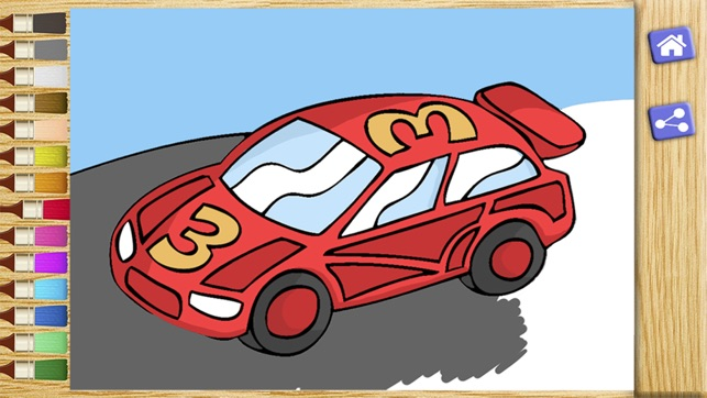 Color cars - car coloring games on the App Store