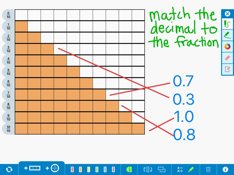 Fractions, by the Math Learning Center screenshot-3