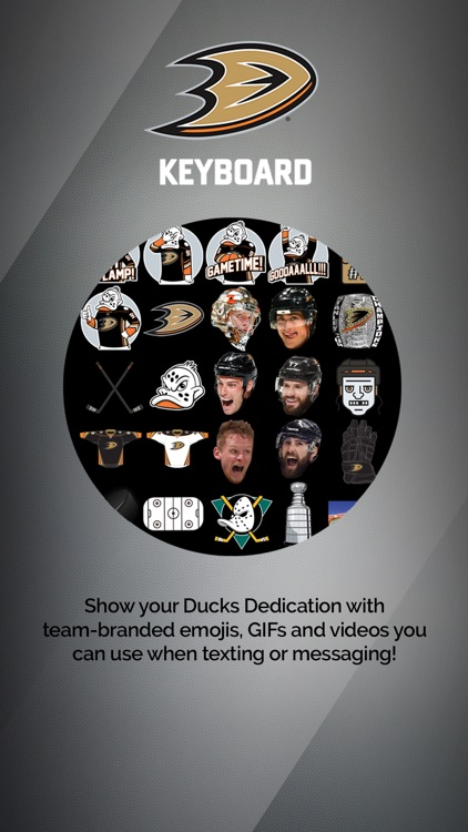 Anaheim Ducks Keyboard