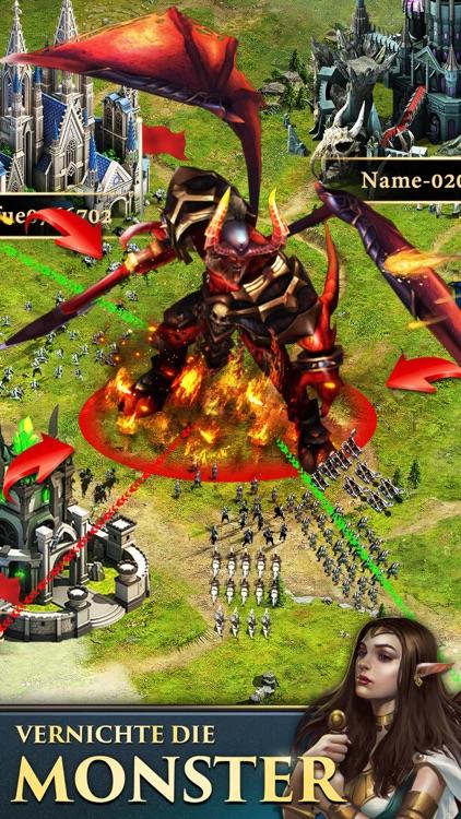 Clash of Queens: Dragons Rise screenshot-4