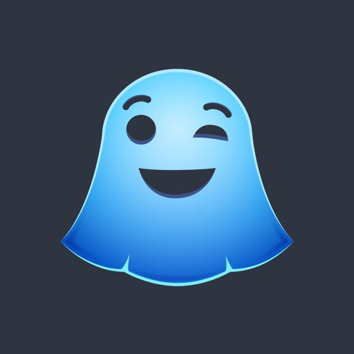 Snap Stickers - Funny Ghost Emoji