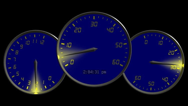 0 to 60 Speedo Clock screenshot-3