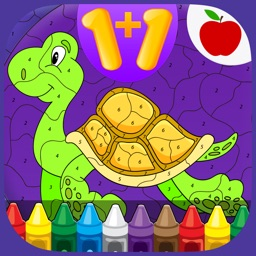 Kids Math Coloring Book - Paint by Numbers