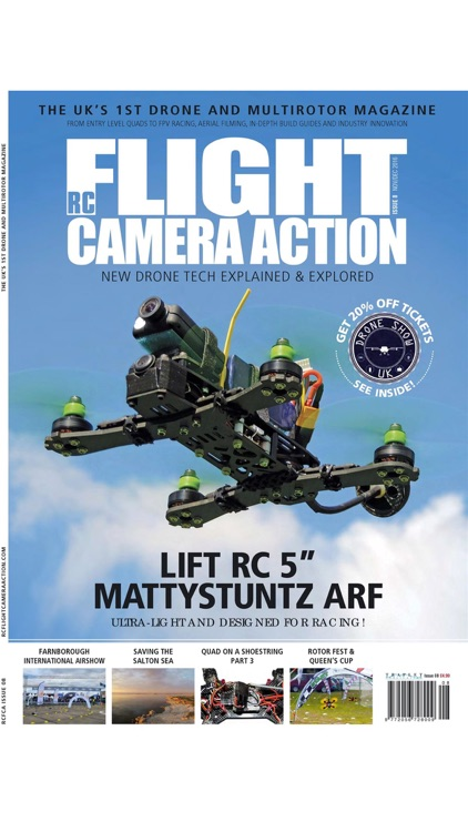 RC Flight Camera Action - New Rotor & Drone Tech Explained & Explored screenshot-3