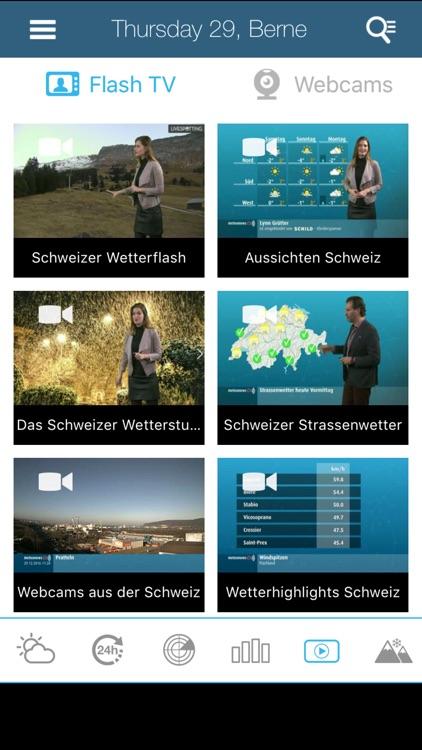 Weather for Switzerland screenshot-4