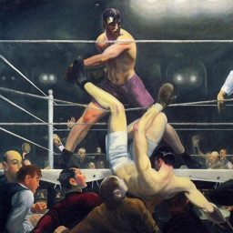 George Bellows Artworks Stickers