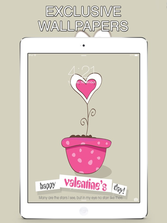 Valentine Day 2017 Wallpapers for iPad screenshot-4