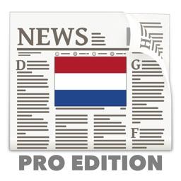 Dutch News in English Pro Edition