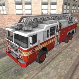 Fire-fighter 911 Emergency Truck Rescue Sim-ulator
