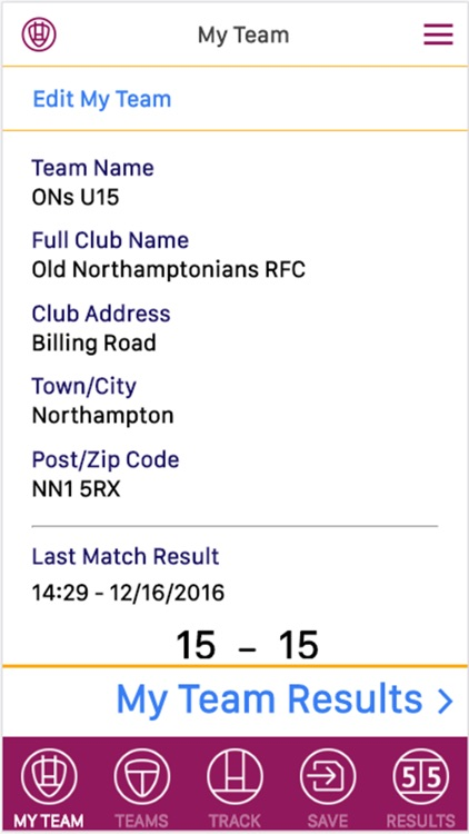 Rugby Score Tracker Pro screenshot-2
