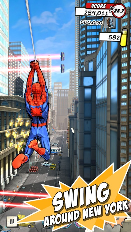 MARVEL Spider-Man Unlimited screenshot-0