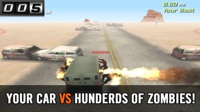 ゾンビロードハイウェイ:無料レーシング&シューティングゲームのスクリーンショット5