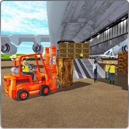 Airport Cargo Forklift Simulator 3D