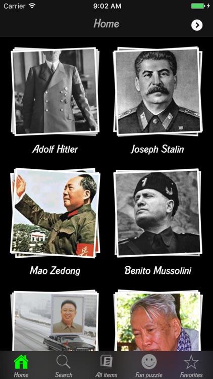 Famous Dictators.