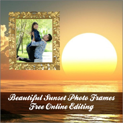 Beautiful Sunset Photo Frames Free Online Editing By Mahendra Kumar Jain