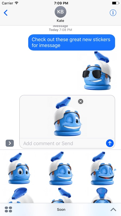 Soon - Stickers for iMessage