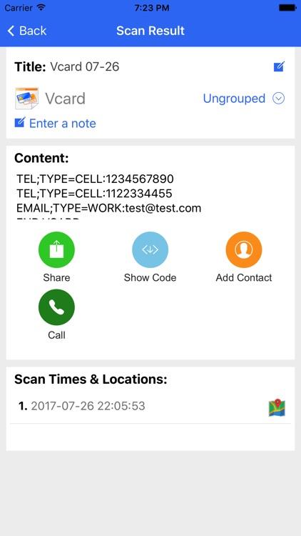 YeeScan - QR Code Reader