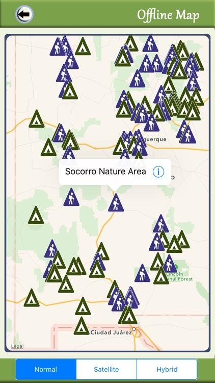 New Mexico Camping & Hiking Trails screenshot-4
