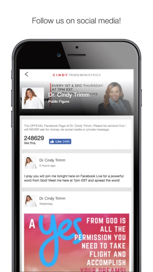 Cindy Trimm Ministries on the App Store